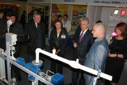 Делегация Саратовской области на выставке «Энергетика. Энергосбережение-2010»